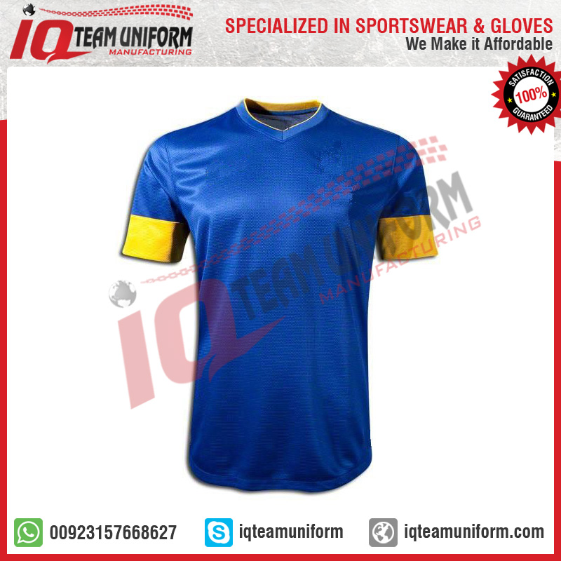 ac8abcdcb Customized Sublimation team soccer jersey