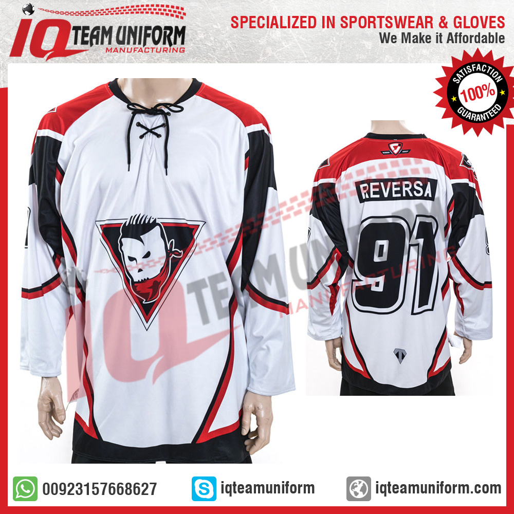 dfbaa3a7481 High Quality custom Sublimated Ice Hockey Jerseys