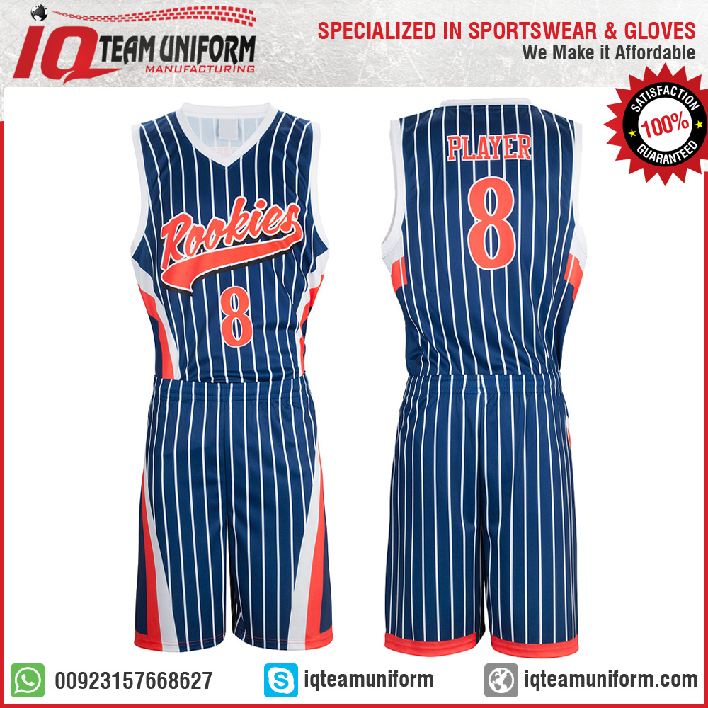 a4172e844 Reversible Custom Sublimation Basketball Uniform