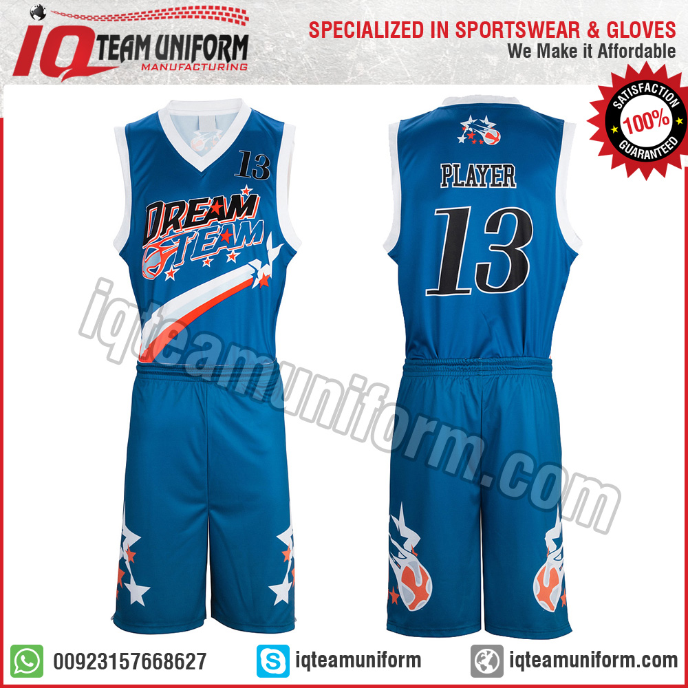 6de6128f8 Youth Sublimation Basketball set jersey and short